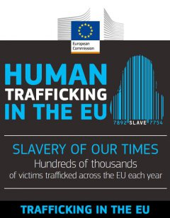 European Commission published an infographic on THB in EU